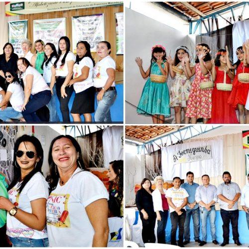 Educação de Alegrete mostra conquistas e é destaque no 'I Seminário Intermunicipal de Alfabetização do PNAIC', em Francisco Macedo