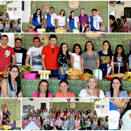UAB de Alegrete do Piauí promove 'café na roça' para cerca de 200 alunos do polo; veja fotos