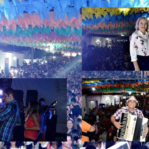 FOTOS | Shows com Danilo Pernambucano e Alvino Luz  no 16º Arraiá de São João Batista em Vila Nova do Piauí