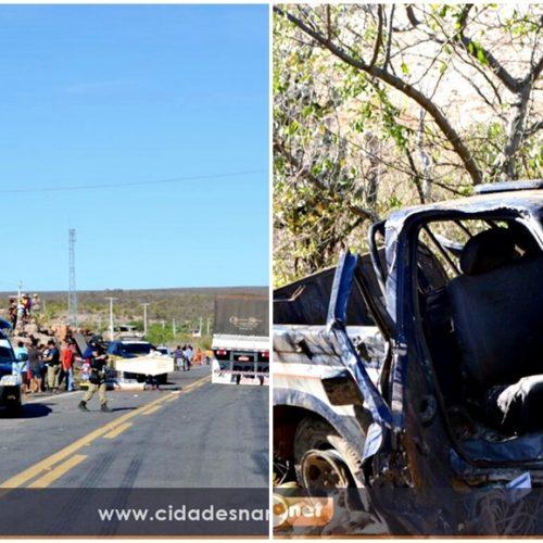 Grave acidente deixa três vítimas fatais na Maria Preta divisa dos municípios de Jaicós e Patos do Piauí; veja fotos