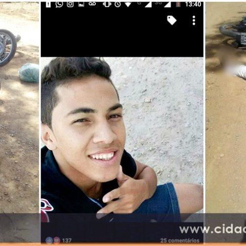 Colisão entre motocicletas deixa vítima fatal no 'Sítio Barra', zona rural de Fronteiras