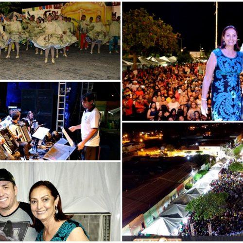 Noite Cultural e Shows com Vicente Nery, Forró Sacode, Lagosta Bronzeada e Iara Tchê atraem multidão e encerra festividades do aniversário de Fronteiras; veja fotos
