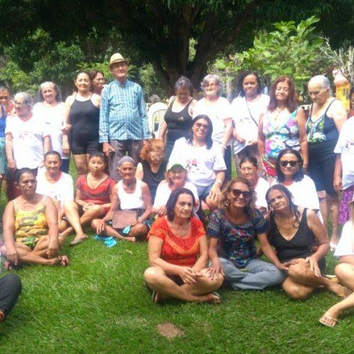 Prefeitura de Simões promove dia de lazer para grupo de idosos do município; veja fotos