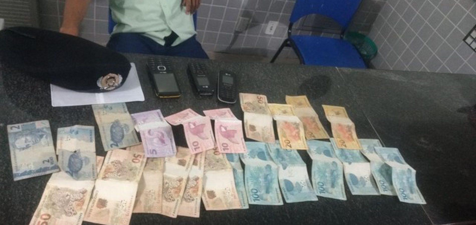 Laadrão atrapalhado é preso após deixar celular cair na cena do crime no Piauí