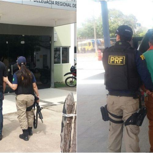 VALENÇA   PRF prende dois suspeitos de estelionato no Piauí
