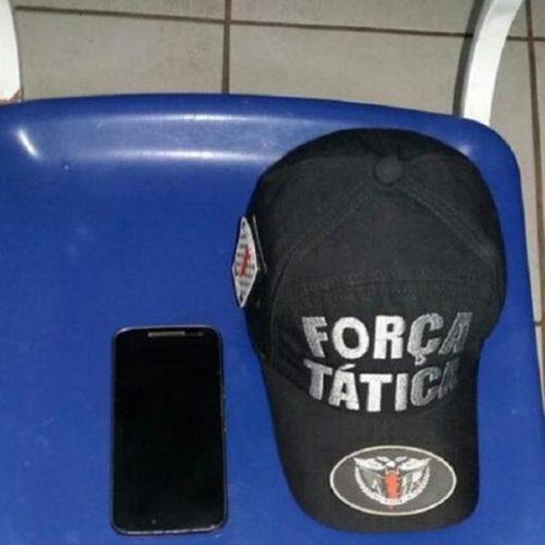 Menor é flagrado com celular roubado em Picos