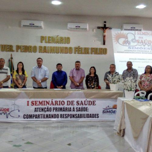 SIMÕES | Município promove 'I Seminário de Saúde Municipal'