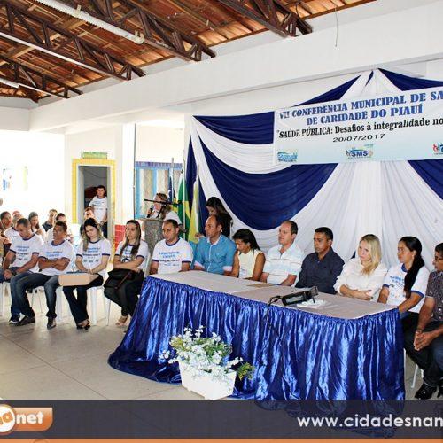 Caridade do Piauí discute melhorias para a Saúde em Conferência Municipal; veja fotos