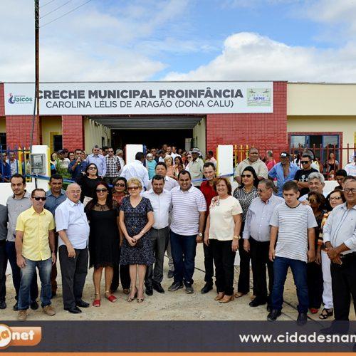 Creche 'Dona Calu' é inaugurada em Jaicós e com capacidade para atender 120 crianças