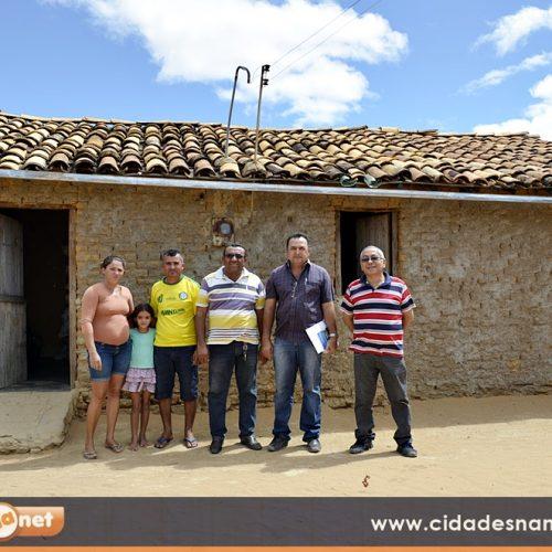 Mais famílias serão contempladas com a construção de banheiros em Patos do Piauí