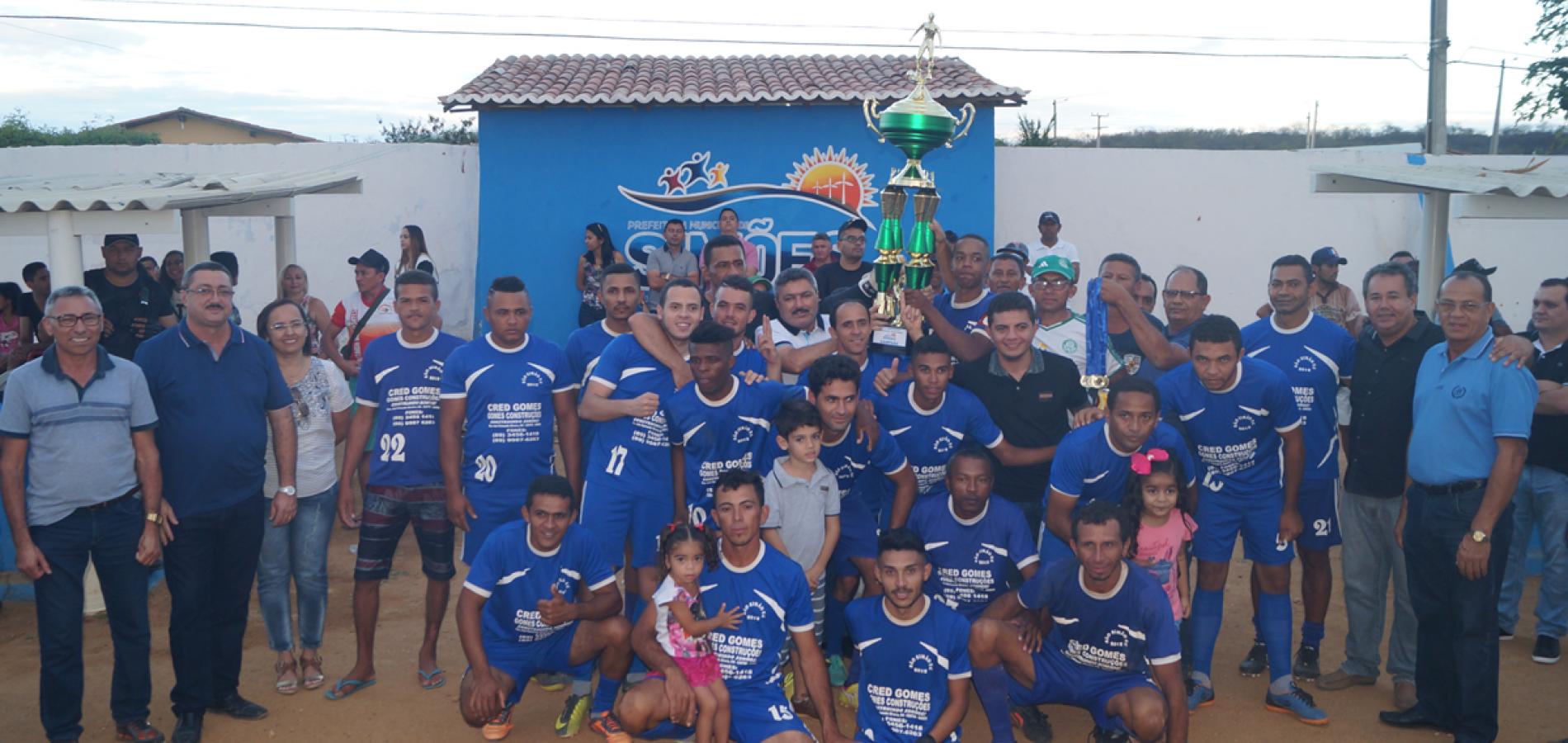 São Simão é o grande campeão do Municipal de Futebol de Simões