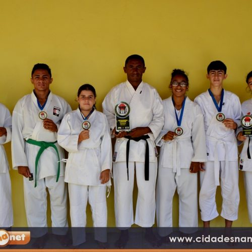 Cinco atletas de Campo Grande conquistam 1º lugar e se destacam em campeonato regional de Karatê