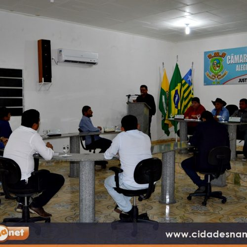 Câmara aprova projetos do Executivo na última sessão do primeiro semestre em Alegrete do Piauí