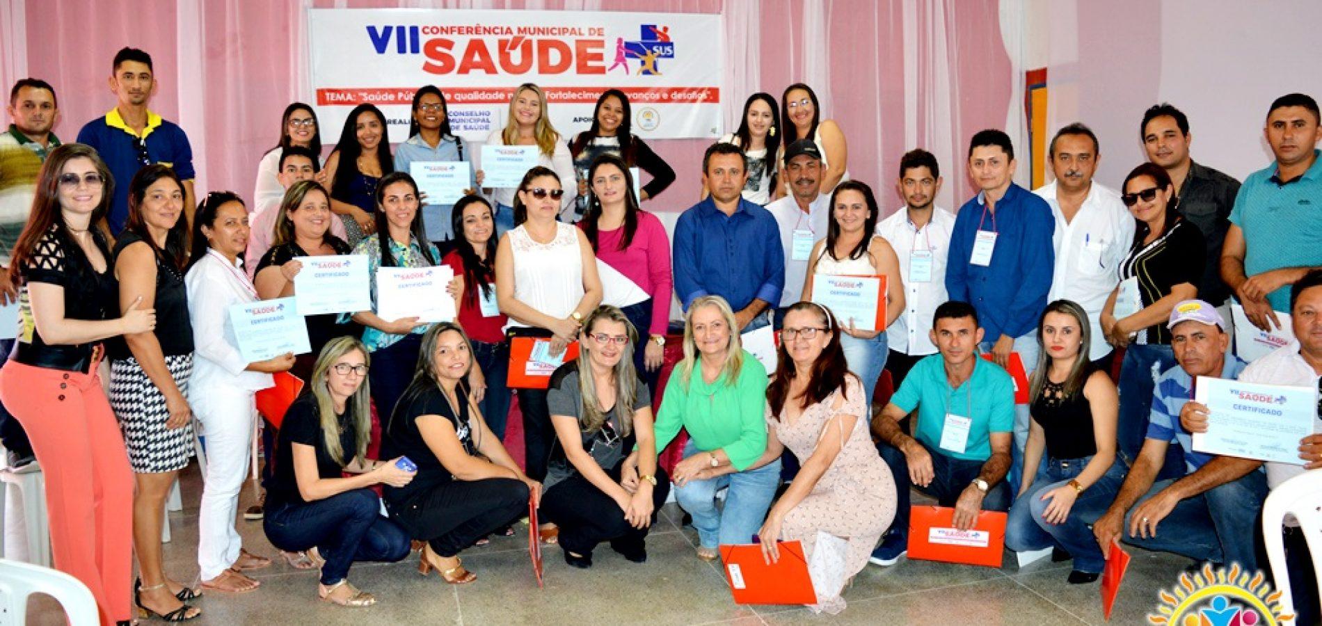 Vila Nova do Piauí discute saúde pública em 7ª Conferência Municipal; veja fotos