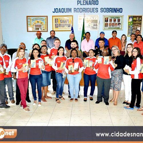 Prefeito de Jacobina realiza audiência pública de prestação de contas da Secretaria de Saúde e entrega tablets aos  ACS