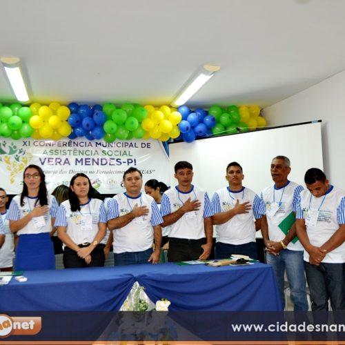 Em  Conferência Municipal, Vera Mendes discute política de Assistência Social