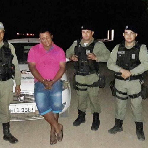 Homem é preso por tráfico de drogas em Campo Grande do Piauí