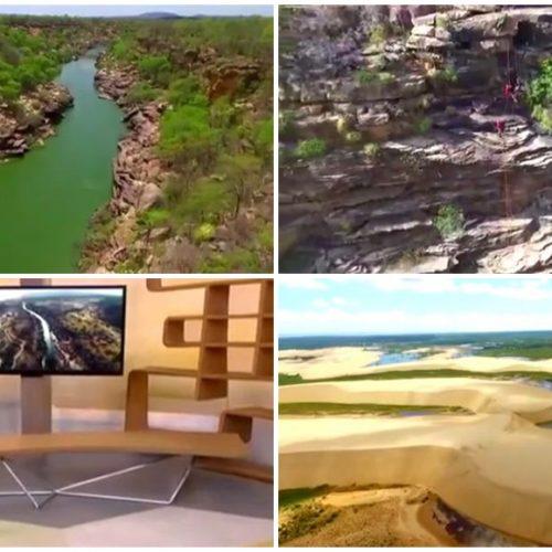 Belezas do Piauí são destaque em programa da Globo