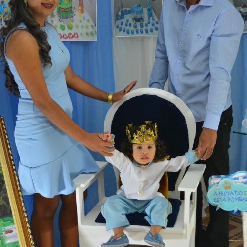 Enzo Miguel comemora em grande estilo o 1º ano de vida