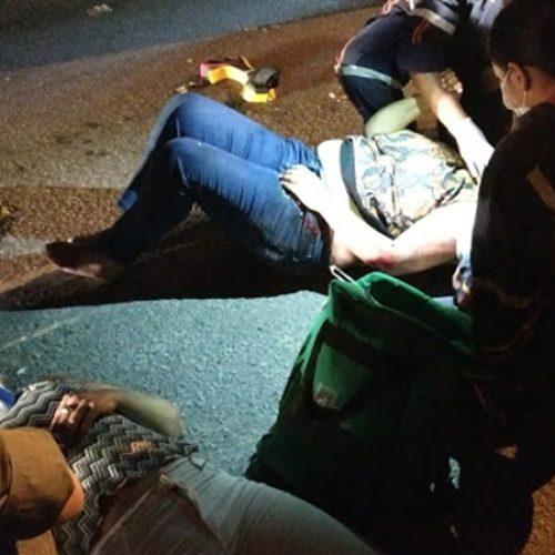 Em município do Piauí motorista acidenta mulheres em moto e foge do local sem prestar socorro