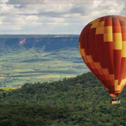 Chapada do Araripe terá voos de balão como atração turística