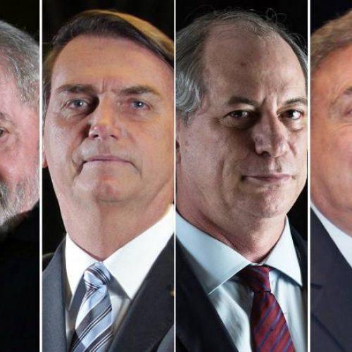 Eleições 2018: a um ano da largada oficial, quatro candidatos já estão na corrida