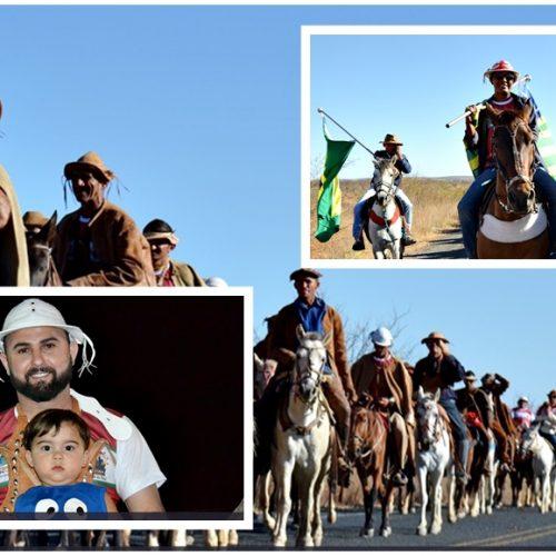 JACOBINA | Com mais de 300 vaqueiros, I cavalgada encerra ovinocaprishow