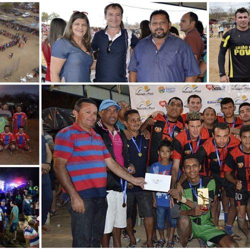 Em Massapê do Piauí, final do Festival de Férias atrai grande público ao Rio Boa Esperança; veja fotos