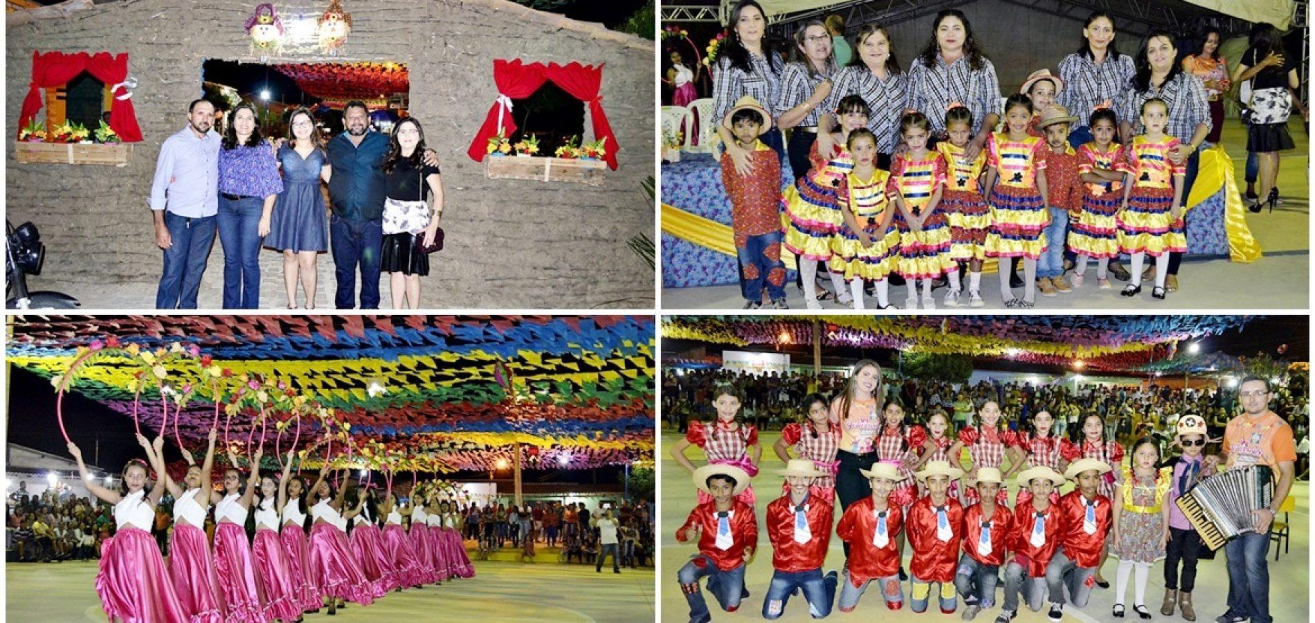 Apresentações culturais abrem o VI 'Arraiá do Caboclo Nordestino' em Belém do Piauí; veja fotos