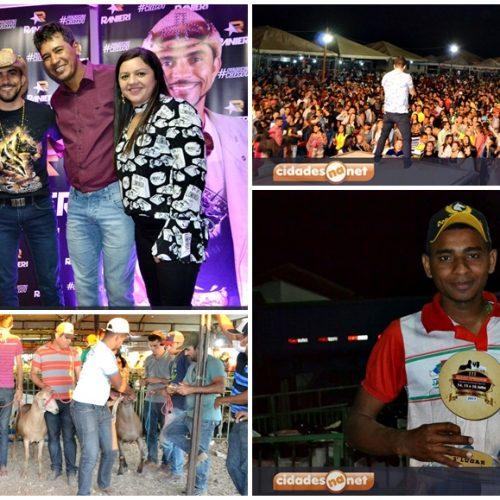Concursos de animais,  comercialização e shows movimentaram 2º  dia da Ovinocaprishow em Jacobina