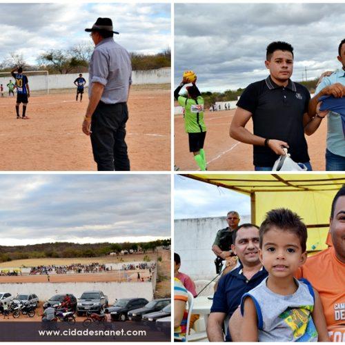 Prefeito abre o Campeonato Municipal de Patos do Piauí