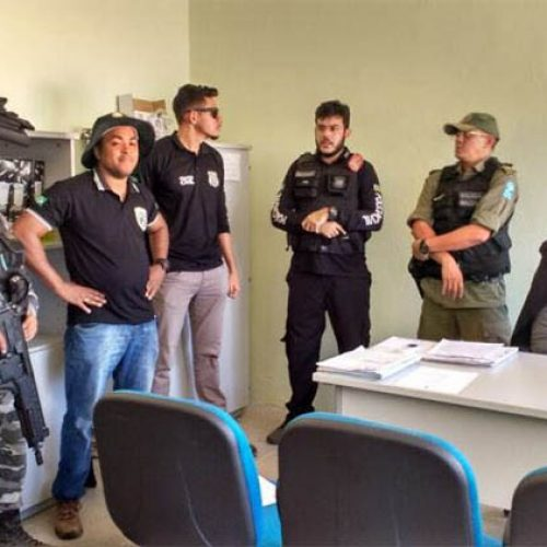 Operação em cidade do Piauí prende três pessoas e apreende armas