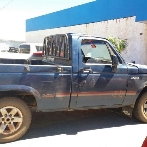 PM recupera D-20 roubada em zona rural de município do Piauí