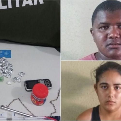 PM prende suspeitos de distribuir droga no campus da UFPI em Picos
