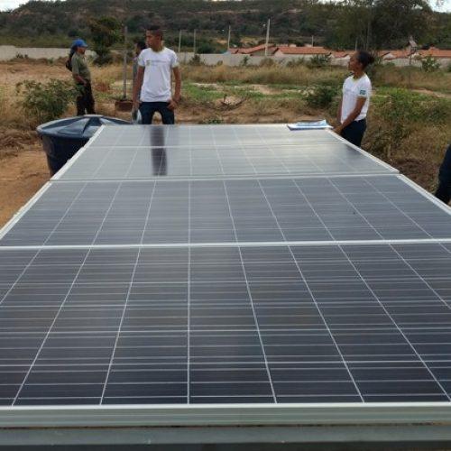 IFPI de Oeiras desenvolve projeto de irrigação utilizando energia solar