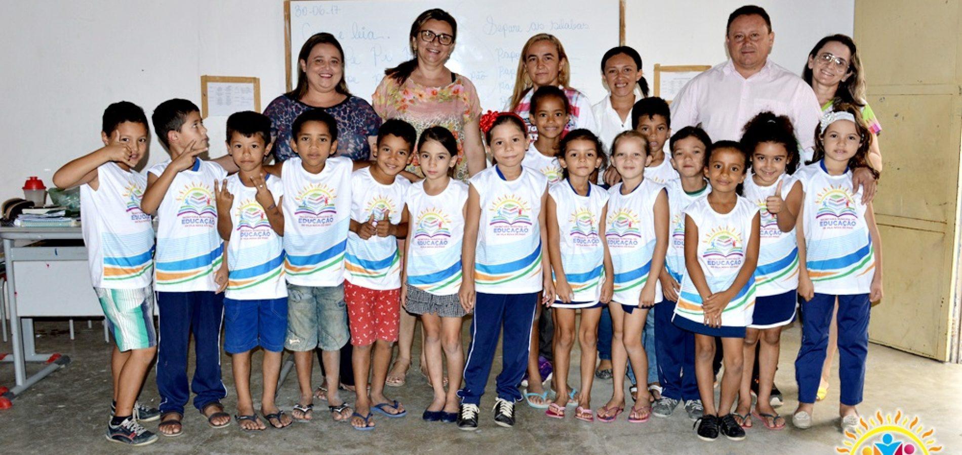 Prefeitura investe mais de R$ 9 mil em fardamentos escolares em Vila Nova do Piauí