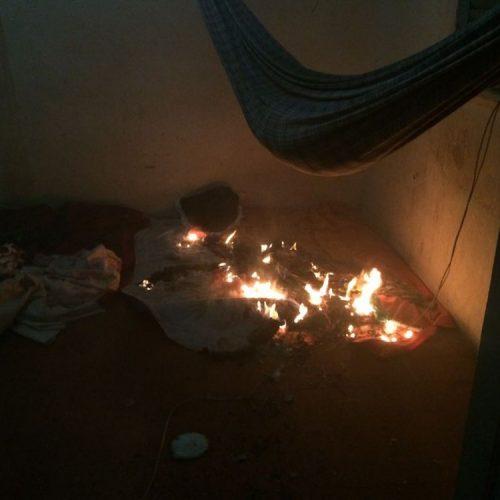 Pai ateia fogo na casa após filha negar abuso e é preso no interior do Piauí