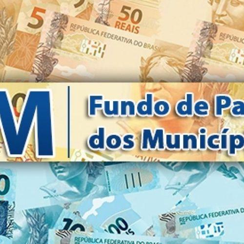 Municípios recebem na próxima segunda-feira mais de R$ 602 milhões do FPM