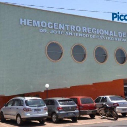 Com estoque em baixa, Hemocentro de Picos convoca doadores