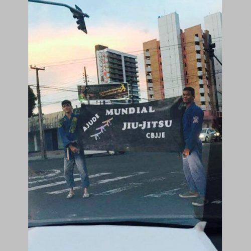 Piauiense ganha hexacampeonato mundial de jiu jitsu depois de pedir dinheiro no semáforo