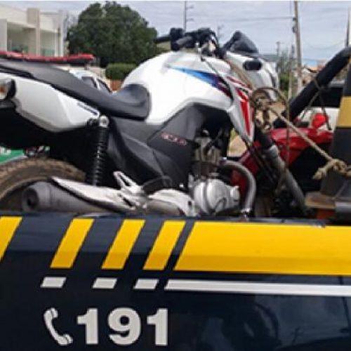 PRF-PI recupera duas motocicletas roubadas uma delas em Picos