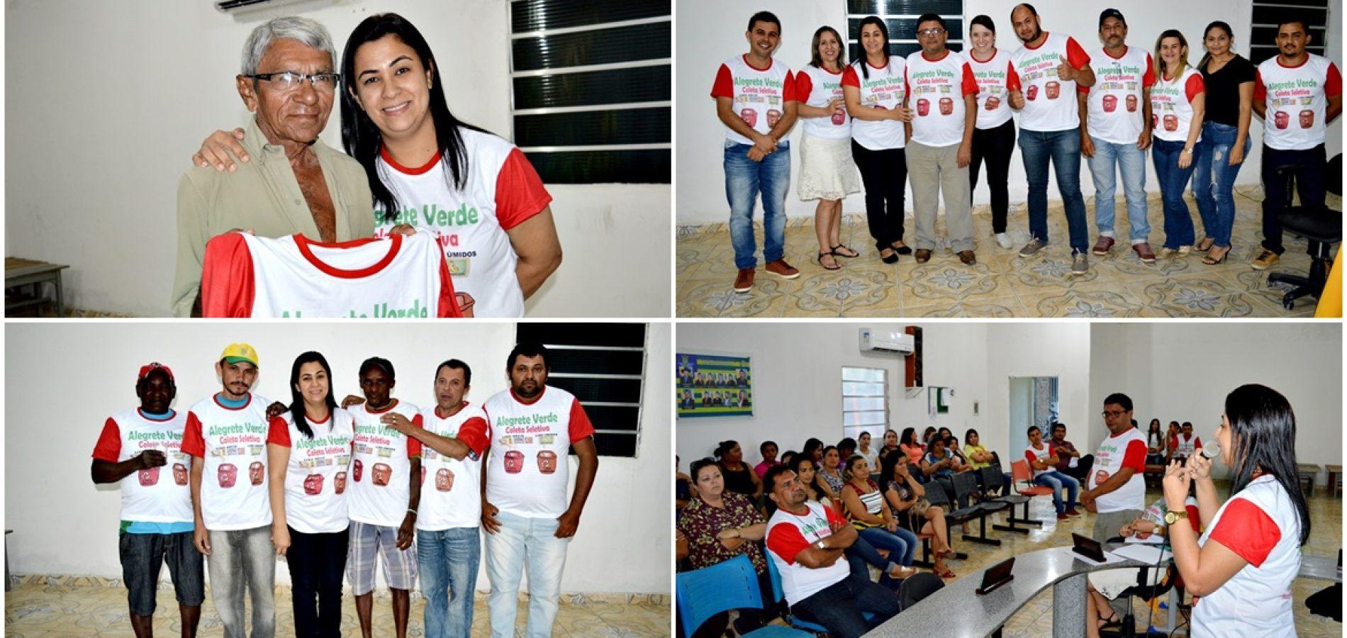 Prefeitura de Alegrete do PI lança 'Programa de Coleta Seletiva, Sustentabilidade e Imposto Ecológico'; veja fotos