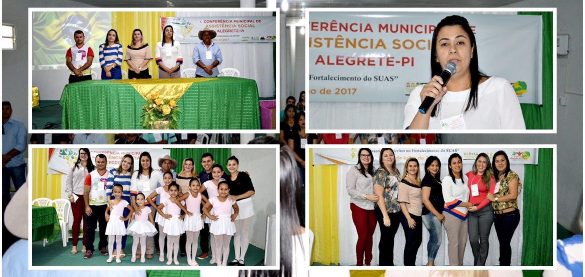 ALEGRETE | Assistência Social discute Garantia de Direitos no Fortalecimento do SUAS na 10ª Conferência Municipal; fotos