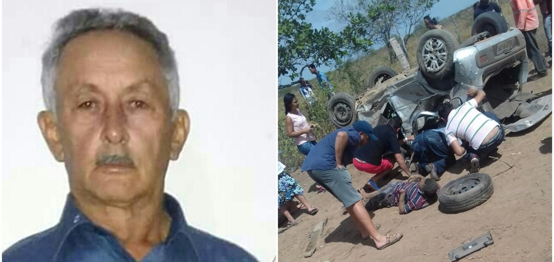 Idoso de Vila Nova é a segunda vítima a morrer após acidente na BR 316