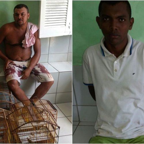 Polícia Militar de município do Piauí prende dois homens em flagrante
