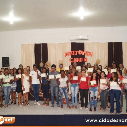 Em Simões, Educação diploma alunos do Projovem Campo