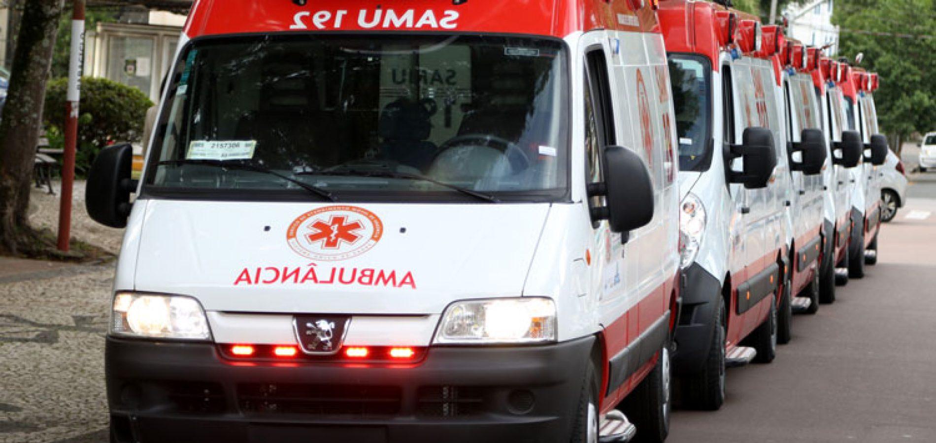Ministério da Saúde anuncia 11 novas ambulâncias para expansão do Samu no Piauí