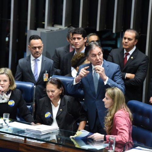 Senadoras que protestaram contra Reforma serão avaliadas em agosto