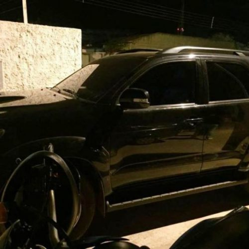 Em Picos, assaltantes invadem armazém e roubam dinheiro e caminhonete