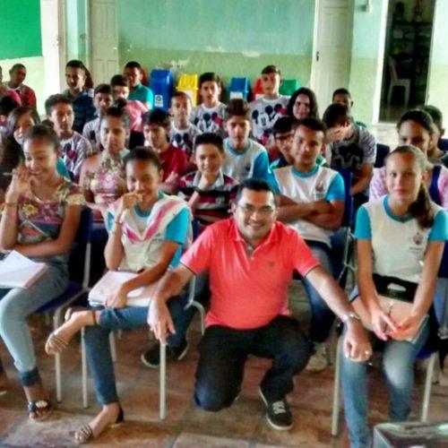 FRONTEIRAS | Escola José Aquiles de Sousa promove momento de incentivo a leitura e  escrita
